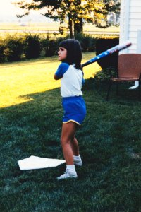 This is the closest I ever got to playing basketball. Yes, this is backyard baseball, not basketball. My point exactly.