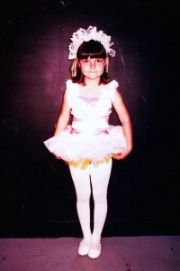 The outfit for the tap number was even better. Because, well, sequins.