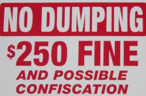 no dumping cropped