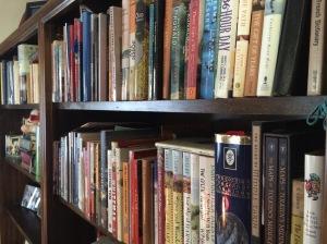 Heaven is built-in bookshelves.