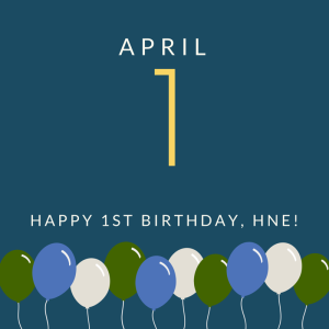 April 1 - 1st birthday